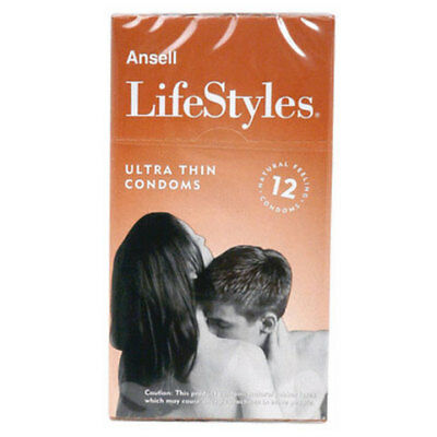 Ansell Lifestyles Ultra Thin Nuda 12 Pack