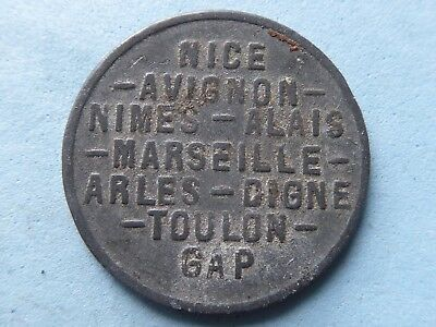 France Chamber Of Commerce Token 5 Cents 1918  (461