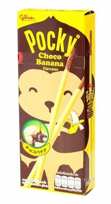 New GLICO Pocky Thai Food Biscuit Stick Snack Choco Banana Flavour #3
