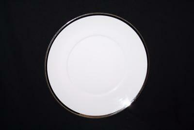 "Thomas China  Medaillon  Thick Platinum  Silver  Band Side Plate 6.8"" Diameter"