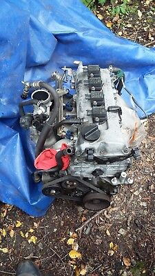 Nissan Micra K11 engine, coil pack type not distributor type.