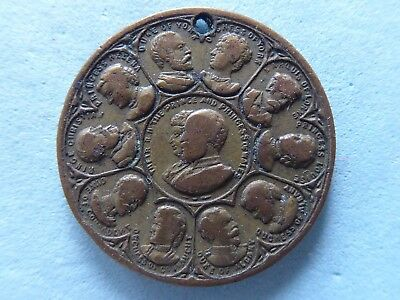 Great Britain Royal Family Medal Queen Victoria 19Mm  (617