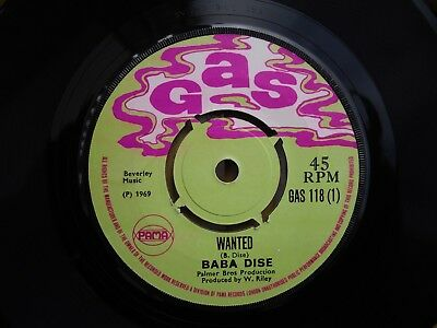 Baba Dise 'wanted'/ The Sensations 'i'll Always Love You' Gas 118  Rocksteady