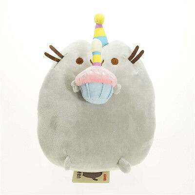 Pusheen The Cat - Pusheen With Cake Plush Soft Toy - *BRAND NEW* 15cm/6inch