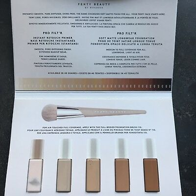 NEW, Fenty Beauty Instant Retouch Primer And Soft Matte Longwear Foundation Sam