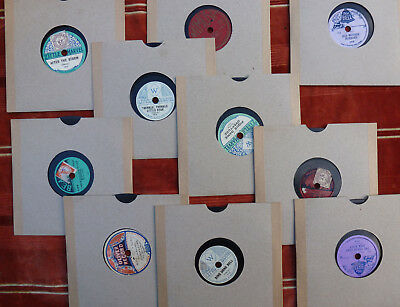 Ten Six-Inch Children's '78' Records In Modern Sleeves. (Ten Lots Available)
