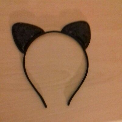 Girls/ladies HALLOWEEN FANCY DRESS CAT/BAT EARS