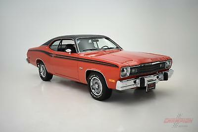 1974 Plymouth Duster 360 -- 1974 Plymouth Duster 360  1,366 Miles Red  360 C.I.
