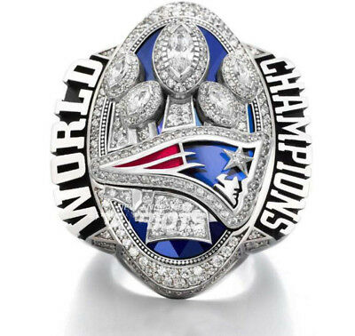 2016 -2017 New England Patriots World Championship Ring Men Gift!Size 8-14