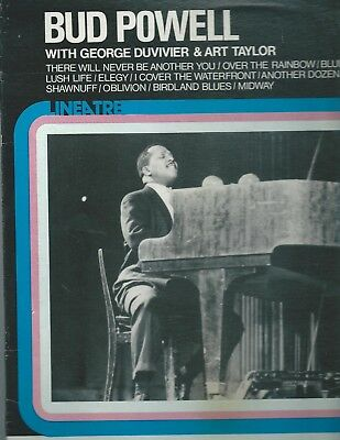Bud Powell - Lp - Bud Powell With George Duvivier & Art Taylor