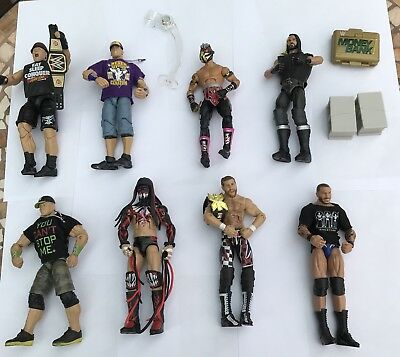 WWE Current Roster Elite Series Figures