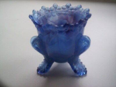Boyd Pressed Glass Tooth Pick Holder