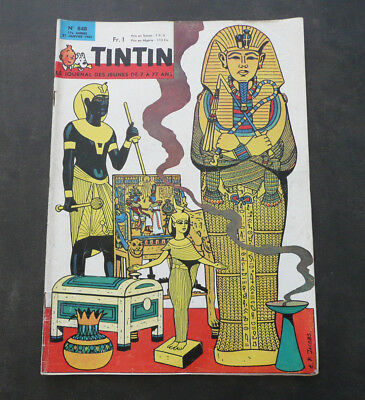 JOURNAL TINTIN N°848 Complet . Année 1965 . TBE