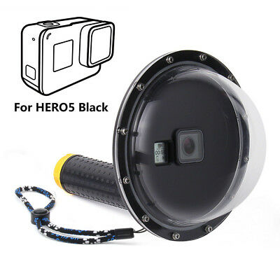 Dome Port Underwater Diving Camera Lens & Cover for GoPro Hero 5 Black Camera