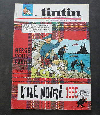 JOURNAL TINTIN N°862 Complet . Année 1965 . TBE