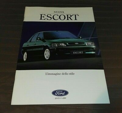 FORD ESCORT depliant catalogo Brochure raro