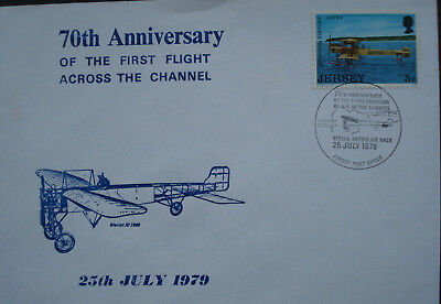 Jersey. 70th Anniversary Of The First Flight Across The Channel, 25th July 1979.