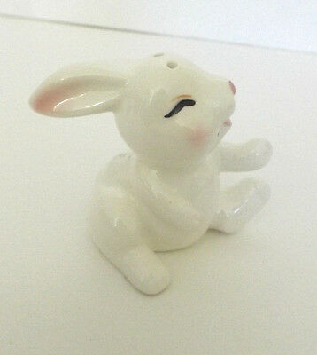 Bunny Rabbit Figurine  salt shaker