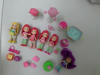 Strawberry shortcake collection of  figures