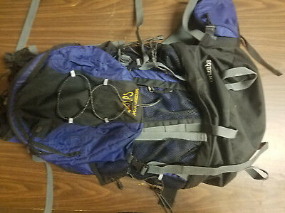 ALPS Mountaineering Orizaba 3900-Cubic Inch Internal Frame Pack (Blue)