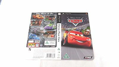 CARS  : ORIGINAL COVER (ARTWORK/SLEEVE) ONLY , psp