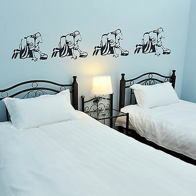 Evolution Of Woman Decor Wall Sticker / Art Decal Transfer / Graphic Stencil NE6