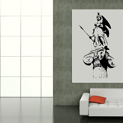 Greek Statue - Landmark Wall Sticker / Home Vinyl Art / Landmark Transfer TO8