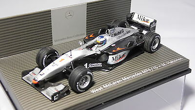 MINICHAMPS WEST McLAREN MERCEDES MP4/15 MIKA HAKKINEN F1 WORLD CHAMPION 2000