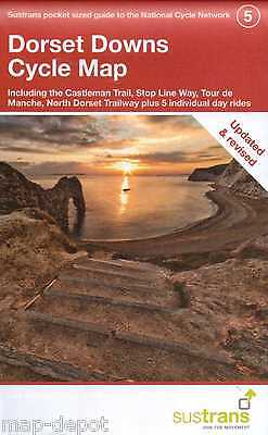 Dorset Downs Cycle Map: Including The Castleman Trail - 2016 EDITION