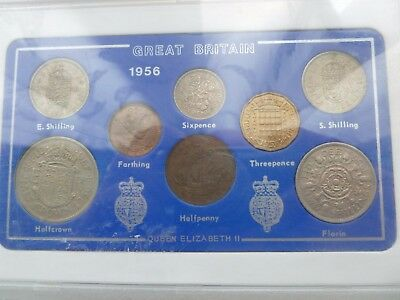 1956   Great Britain    Coin Set