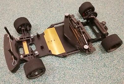Zen Racing Rxgt12 Race Chassis With Loads Of Spares GT12 12th 1/12 Pancar RC