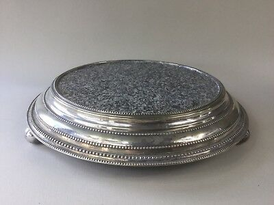 A Victorian Silver Plated Plateau / Cake Stand - Hawksworth Eyre & Co