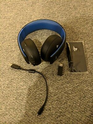 Sony Gold PlayStation Wireless Headset Stereo 2.0