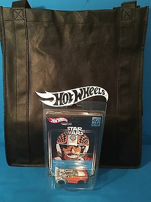 Star Wars 40th Anniversary Biggs Darklighter Hot wheels Exclusive With Tote Bag