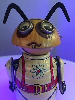 1968 Marx Mechanical Moon Creature toy robot - Colonel Hap Hazard lithography