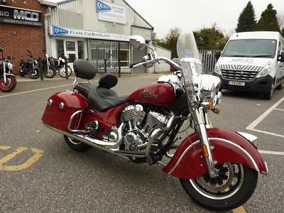 Indian Springfield 17/17reg 668miles Immaculate heated seats