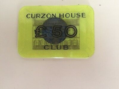 Curzon House £50 Plaque from the 1960's