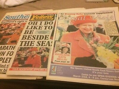 Royal Family Newspaper visit to Southend Essex 1999
