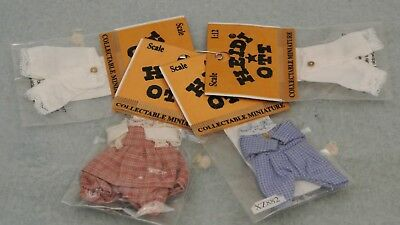 Heidi Ott 1:12 scale 4 Mint In Package Outfits