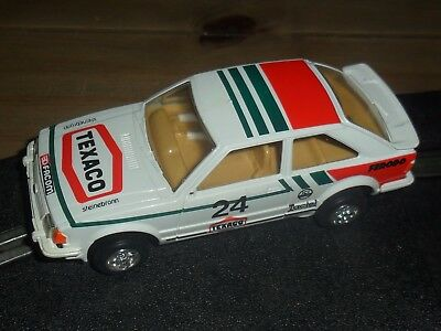 Scalextric rare vintage Ford Escort XR3i rally / touring car Superb condition