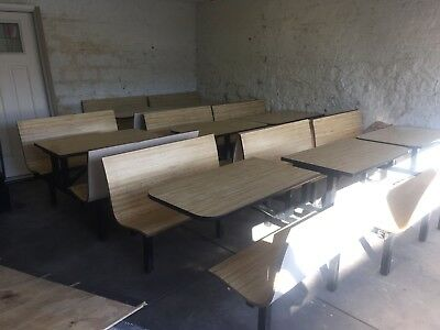 Genuine Plymold Contour Restaurant Booth Table