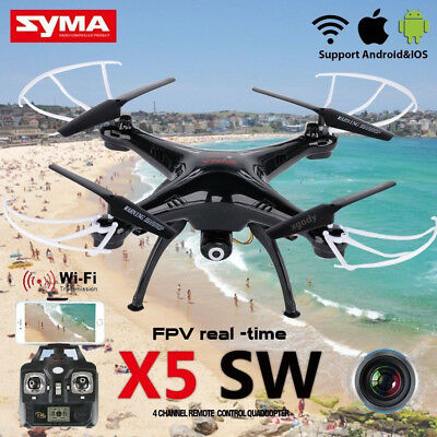 Syma X5SW 2.4Ghz 6-Axis Gyro RC Quadcopter Drone UAV RTF UFO with HD Camera