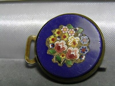 Vintage Micro Mosaic Part of a Buckle