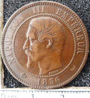 FRANCE - 10 Centimes 1856-W  ... (6015)