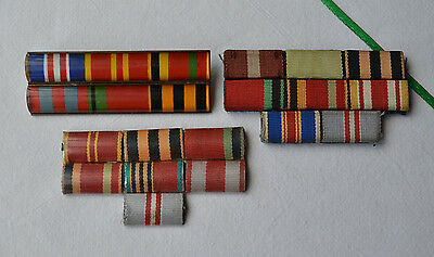 USSR Ribbon bar medal WW2 Lot Soviet military Uniform soldier patch order WWII