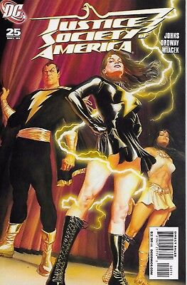 Justice Society America #25 Alex Ross Cover