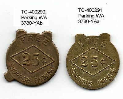 *** Seattle *** DIAMOND *** SHOPPERS PARKING *** 2 & 3 tab SET ***