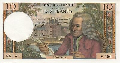 10 FRANCS VOLTAIRE Type 1963 // 62/57 // PrNeuf // 62€