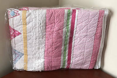 Pottery Barn Kids Heart Nursery Toddler Quilt