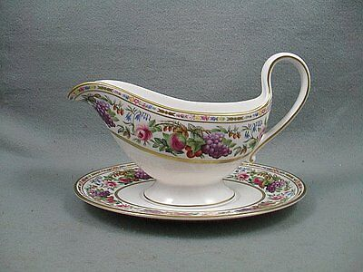 Spode Provence gravy boat and stand